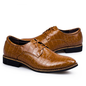 British Casual Business Classic Lace Up Oxford Shoes
