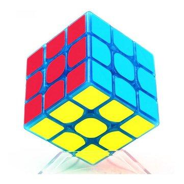 Classic Magic Cube Toys 3x3x3 PVC Sticker Block Puzzle Speed Cube Dark Luminous