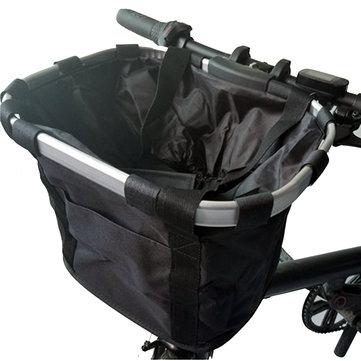 BIKIGHT Oxford Cloth Bike Storage Front Carrying Bag for Xiaomi Electric Scooter E-bike Ninebot Segway ES1 ES2 Cycling Basket Package