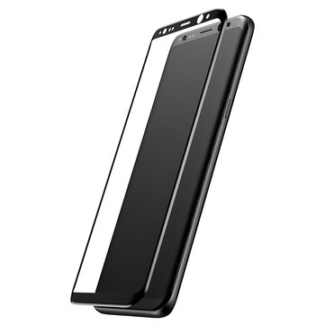 Baseus 3D Arc Edge 0.3mm Tempered Glass Silk Screen Rim Full Screen Protector for Samsung Galaxy S8