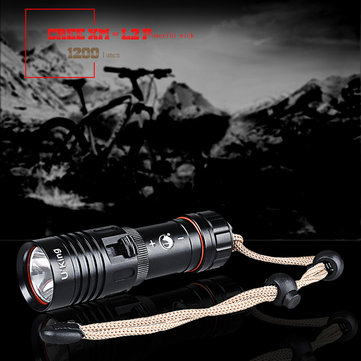 U King ZQ-WXK8 XM-L2 1200LM 18650 LED Diving Flashlight 80m