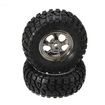 HBX 12891 1/12 Wheels Complete (2P) 12664 Original Tires RC Car Parts