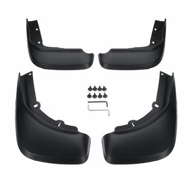 4Pcs Front Rear Mudflap Splash Protection Guards Set For Volvo XC60 14-17