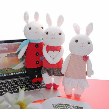 Metoo 35CM Lovely Doll Angela Tiramisu Rabbit Plush Toys For Girl Birthday Gift