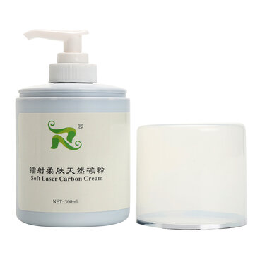 300ml New Soft Laser Carbon Cream Facial Skin Rejuvenation