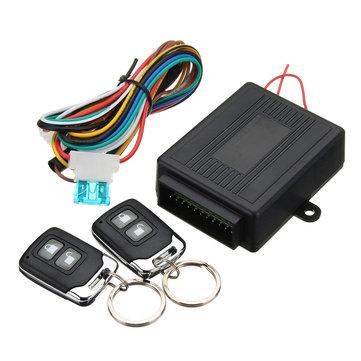 Universal Car Central Door Lock Locking Keyless Entry System w/2 Remote Control