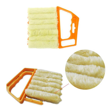 Creative Microfibre Venetian Blind Blade Bathroom Accessories Window Clean Brush Diagnostic-tool Magnetic Window Cleaner