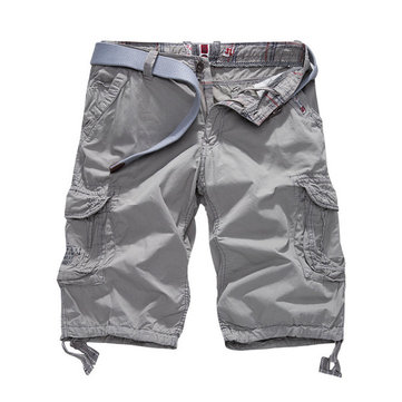 Men's Outdoor Loose Big Pocket Cargo Shorts