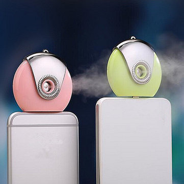 Mobile Phone Mini Humidifier Portable Diffuser Moisturizing Aroma Spray For Android Phones Skin Care