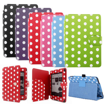 Flip PU Leather Smart Sleep/Wake Magnetic Stand Holder Case For Amazon Kindle Paperwhite