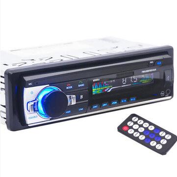 12V Car Radio bluetooth 1 DIN In Dash Aux Input FM Stereo Head Unit
