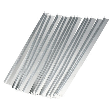 12Pcs Galvanized Steel Bee Hive Beekeeping Brood Box Card Frame Runners 15 Inch Beekeeping Frame