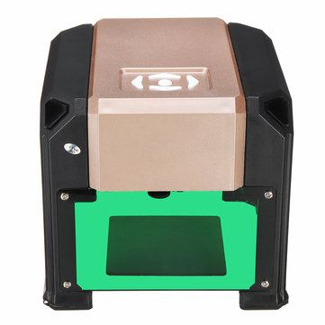 1500mW CNC USB DIY Logo Mini Desktop Laser Engraving Machine Engraver Printer Carver