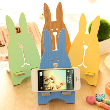 Universal Portable Light Weight Rabbit Mobile Phone Tablet Desktop Holder Stand Lazy bracket