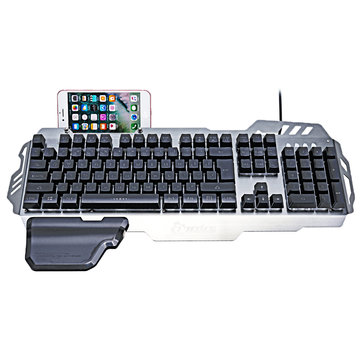 PK-900 104 Keys USB Wired Backlit Mechanical-Handfeel Gaming Keyboard