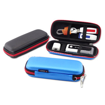 GUANHE Portable Waterproof Electronic Accessories Bag Charger Cables USB Flash Drive Storage Pouch