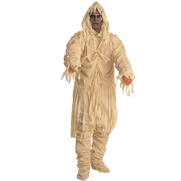 Mummy Hooded Wicca Robe Halloween Party Costumes Ghost Clothing
