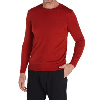 Men's Warm Knitted Solid Color Slim Pullovers