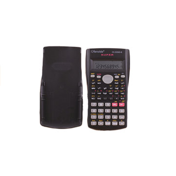 Scientific Function Calculator School Student Multi 12-Bit 2-Line Display Calculator Digital LCD