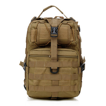 Men Oxford Tactical Chest Pack Molle Slingle Shoulder Backpack Sling Bag