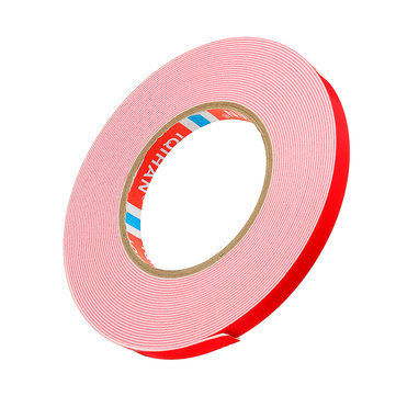 10m Double Sided Adhesive Tape White Foam Sticker 8/10/12/15/20/25mm Width for Car Home Outdoor Fixed