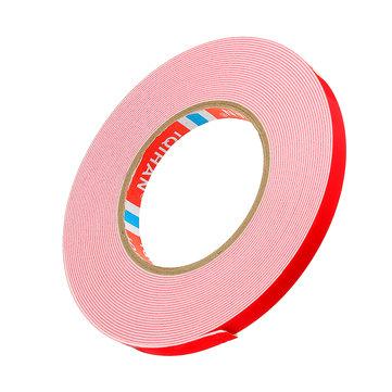10m Double Double Sided Tape Tape Adesivo in schiuma bianca 8/10/12/15/20 / 25mm larghezza per casa auto esterna fisso
