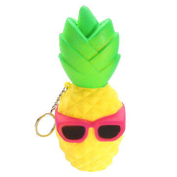 Squishy  Pineapple Fruit Squeeze Slow Rising Phone Strap Relieve Soft Stress Toy Penda