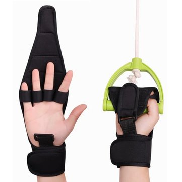 Rehabilitation Finger Gloves Brace Elderly Fist Stroke Hemiplegia Hand Training