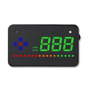 Universal GPS HUD Digital Head Up Display Car Truck Speedometer Speed Warning