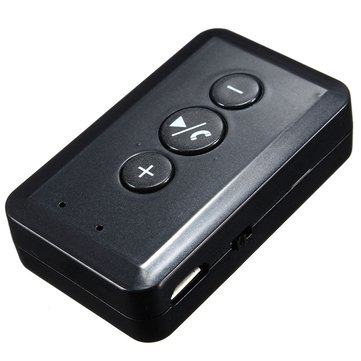 Car Bluetooth Wireless Music Receiver AUX Audio Speaker Adapter Hands Free 3.5 mm