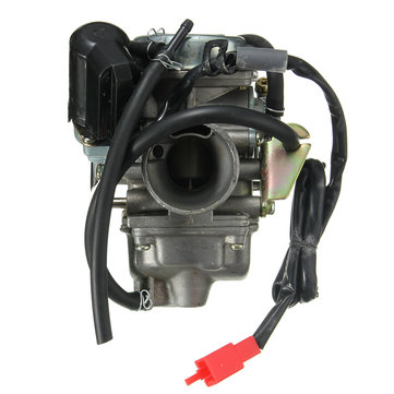 24mm Tank GY6 150cc 150 Carburetor With Intake Manifold Scooter Moped Carb