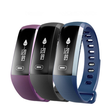 M2S PLUS Heart Rate Blood Pressure Activity Tracker Bluetooth Smart Bracelet Wristband