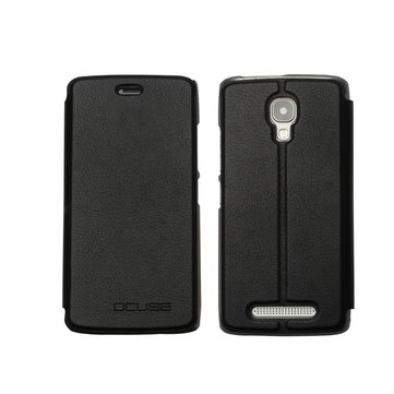 PC Back Cover Leather Flip Stand Case for Bluboo Mini