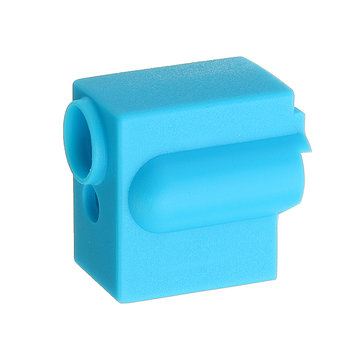 5Pcs Blue Silicone Volcano Heating Block Protective Case for 3D Printer Part V6 Hotend