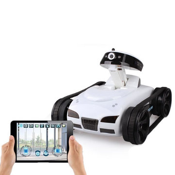 Happy Cow 777-270 Mini WiFi RC Car With Camera Support IOS Phone Android Real-time Tank Toys