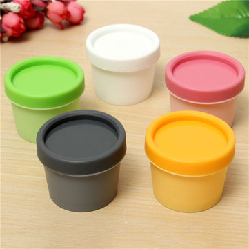 Face Cream Container Jar Straight-shaped Plastic Bottle Cosmetic Facial Skin Care 50g