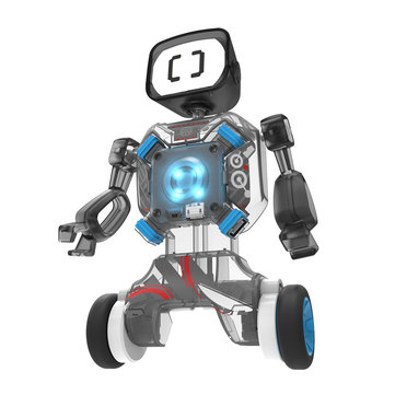 DIY 6 I 1 Smart RC Robot Toy Utdanningssett 10% Off