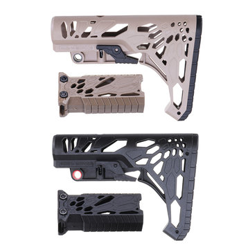 Upgrade Nylon Buttstock Handle Grip For JM M4 GEN8 Scar M4 Gel Ball Blasting Replacement Accessories