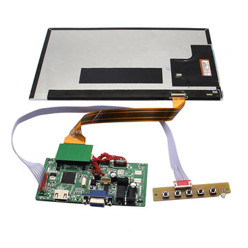 10 Inch Full HD 1920 x 1080 208PPI Independent Display TFT Screen For Raspberry Pi / Orange Pi / PC