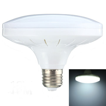 E27 14W 36 SMD 5730 LED Cool White Saucer Globe Light Lamp Bulb AC220V