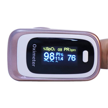 Bangphy Professional OLED Pulse Oximeter Blood SPO2 Heart Rate Sleep PI ODI Monitor Device Hospital Household
