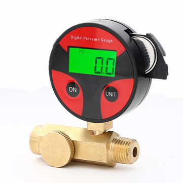 Digital Display Air Pressure Regulator Valve Pneumatic Air Flow Speed Regulator