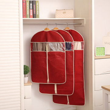 Honana HN-DB1 Non-woven Organization Storage Bag Clothes Protector Cover Garment Suit Coat Dust Bags