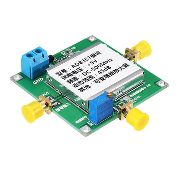 AD8367 500MHz RF Broadband Signal Amplifier Module 45dB Linear Variable Gain AGC VCA 0-1V