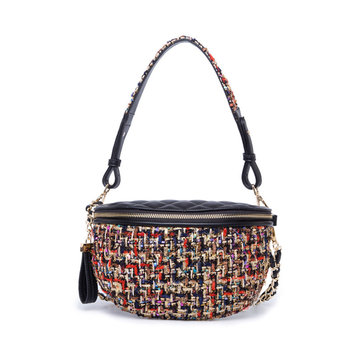 Women Multifunction Crossbody Bag Travel Outdoor Waist Bag Handbag