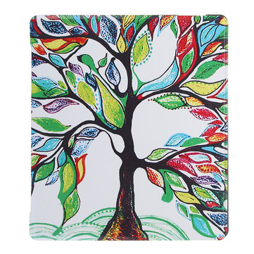 PU+PC Smart Sleep Colorful Tree Protective Cover Case For Oasis Kindle 7 Inch Ebook Reader