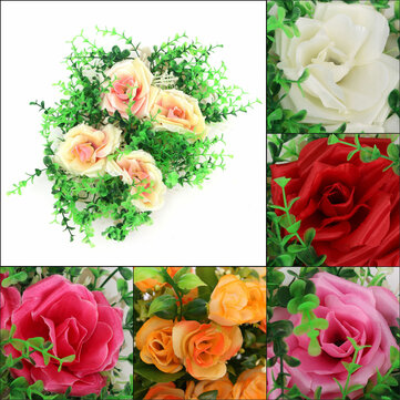 Simulation Stars Flowers Artificial Plastic Lawn Weddings Home Cafe Garden Restaurant Decor
