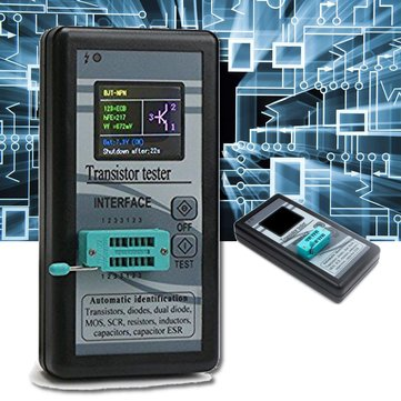 1.8 Inch TFT LCD M328 Transistor Tester Diode Triode Checker Capacitance Meter MOS LCR ESR