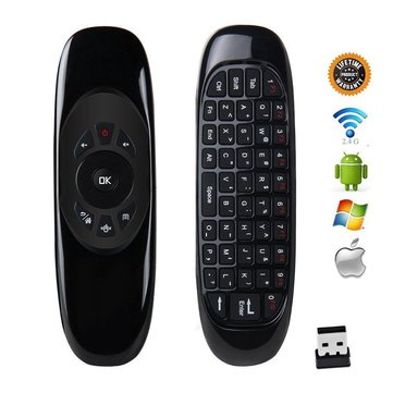 Wireless Air Mouse Keyboard Game Remote Controller For Macbook PC iPad Projector Smart TV Box