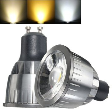 GU10 3W Ultra Bright LED COB Pure White Warm White Spot Lightting Bulb AC85-265V